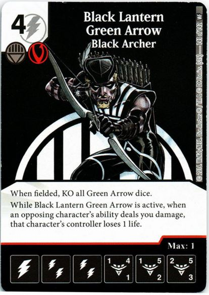 Black Lantern Green Arrow Black Archer
