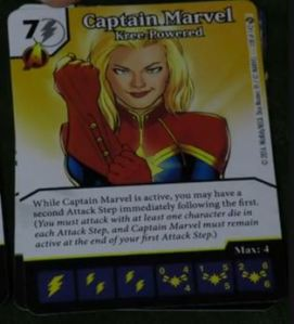 Captain Marvel Kree Powered