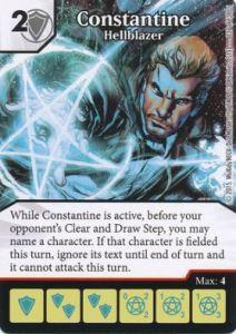 Dice Masters - Justice League - Constantine Hellblazer