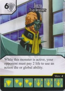 Dice Masters - Yu Gi Oh - Jinzo Trap Destroyer
