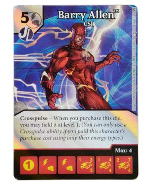 Dice Masters - Green Arrow & The Flash - Barry Allen CSI