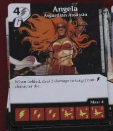 Dice Masters - Deadpool - Angela Asgardian Assassin