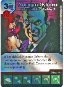 "Norman Osborn Don't Call Me ""Gobby""!"