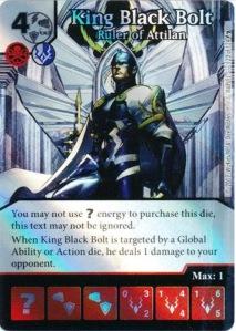 King Black Bolt Ruler of Attila