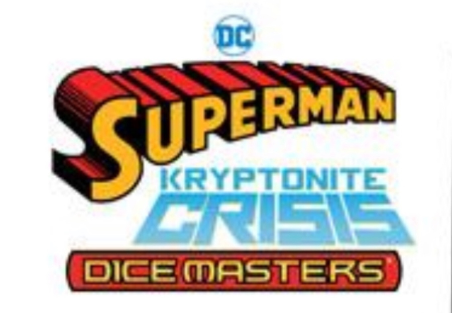 Dice Masters Superman Kryptonite Crisis Logo