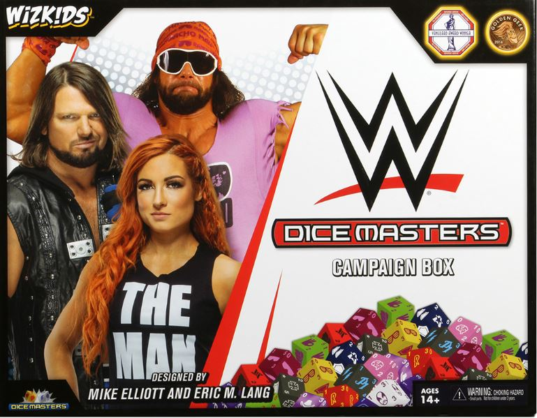 Dice Masters WWE Box Art