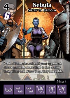 Infinity Gauntlet, Nebula, Sister to Gamora