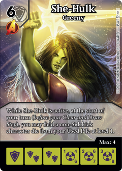Infinity Gauntlet, She-Hulk, Greeny