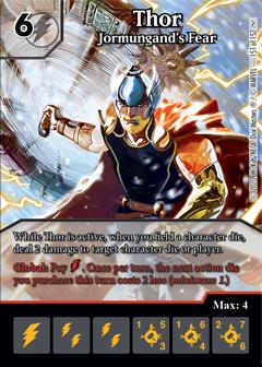 Infinity Gauntlet, Thor, Jormungand's Fear