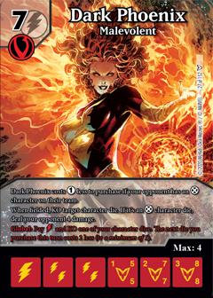 Dark Phoenix Saga, Dark Phoenix, Malevolent