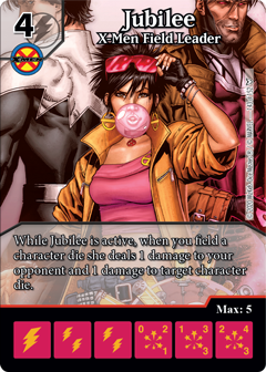 Dark Phoenix Saga, Jubilee, X-Men Field Leader