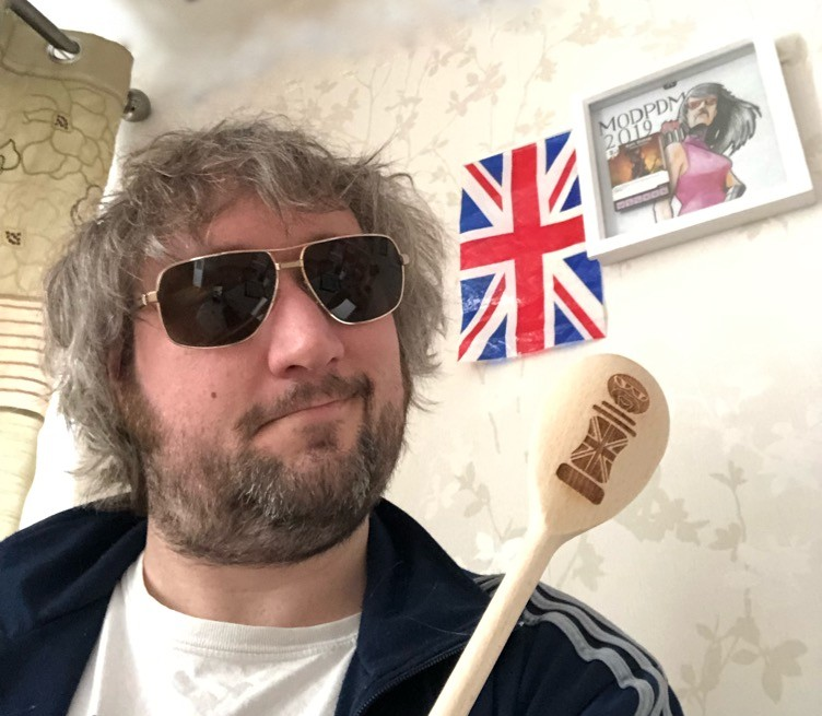 Ministry of Dice Wooden Spoon
