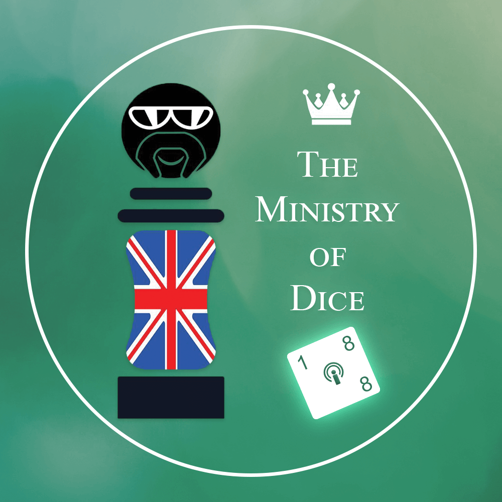 The Ministry of Dice Logo