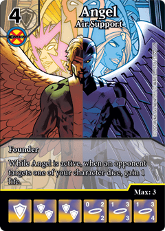 Dice Masters Dark Phoenix Saga Angel Air Support