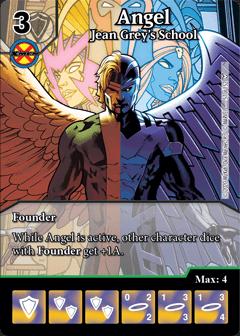 Dice Masters Dark Phoenix Saga Angel Jean Grey's School