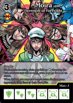 Dice Masters Dark Phoenix Saga Moira Strength of Foresight