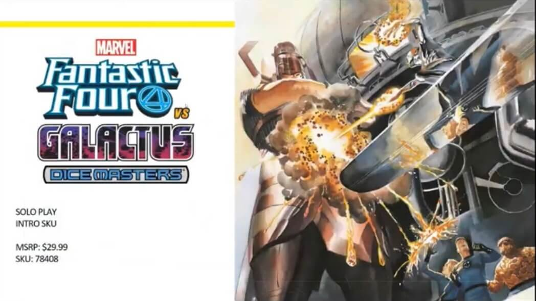Dice Masters Fantastic Four Vs Galactus set