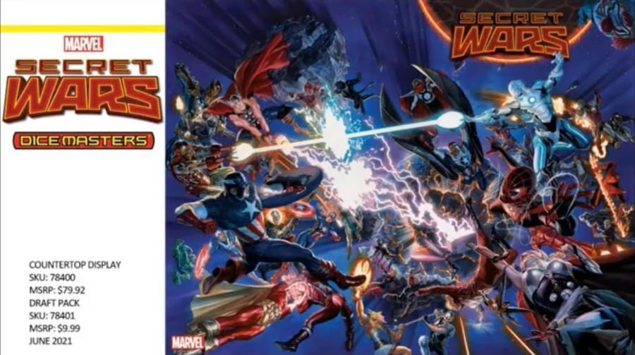 Marvel Dice Masters Secret Wars