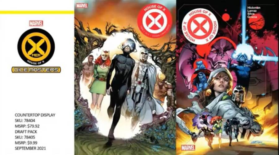 Marvel Dice Masters House of X