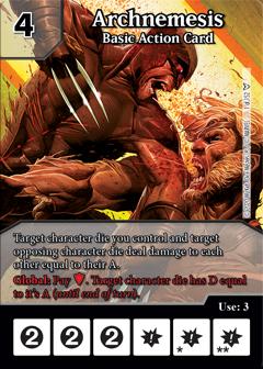 Dice Masters - Dark Phoenix Saga - Archnemesis Basic Action