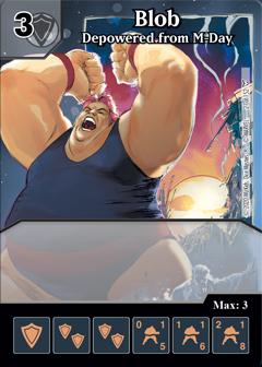 Dice Masters - Dark Phoenix Saga - Blob Depowered from M-Day