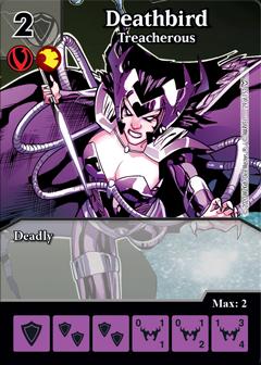 Dice Masters - Dark Phoenix Saga - Deathbird Treacherous
