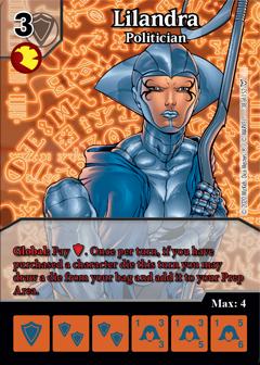 Dice Masters - Dark Phoenix Saga - Lilandra Politician