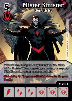 Dice Masters - Dark Phoenix Saga - Mister Sinister Geneticist