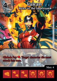 Dice Masters - Dark Phoenix Saga - Vulcan Ruler of the Imperium
