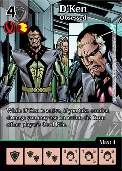 Dice Masters - Dark Phoenix Saga - D'Ken Obsessed