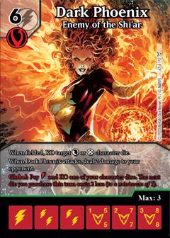 Dice Masters - Dark Phoenix Saga - Dark Phoenix Enemy of the Shi'ar
