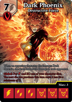 Dice Masters - Dark Phoenix Saga - Dark Phoenix Destructive Force