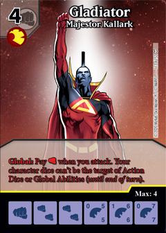 Dice Masters - Dark Phoenix Saga - Gladiator Majestor Kallark