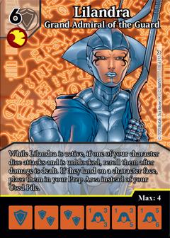 Dice Masters - Dark Phoenix Saga - Lilandra Grand Admiral of the Guard