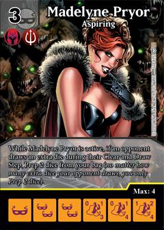 Dice Masters - Dark Phoenix Saga - Madelyn Pryor Aspiring