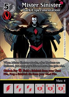 Dice Masters - Dark Phoenix Saga - Mister Six Dark Experimentation