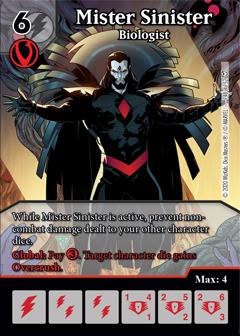 Dice Masters - Dark Phoenix Saga - Mister Sinister Biologist