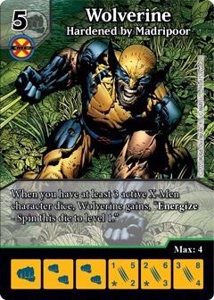 Dice Masters - Dark Phoenix Saga - Wolverine Hardened by Madripoor