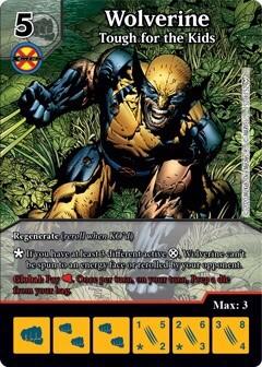 Dice Masters - Dark Phoenix Saga - Wolverine Tough for the Kids