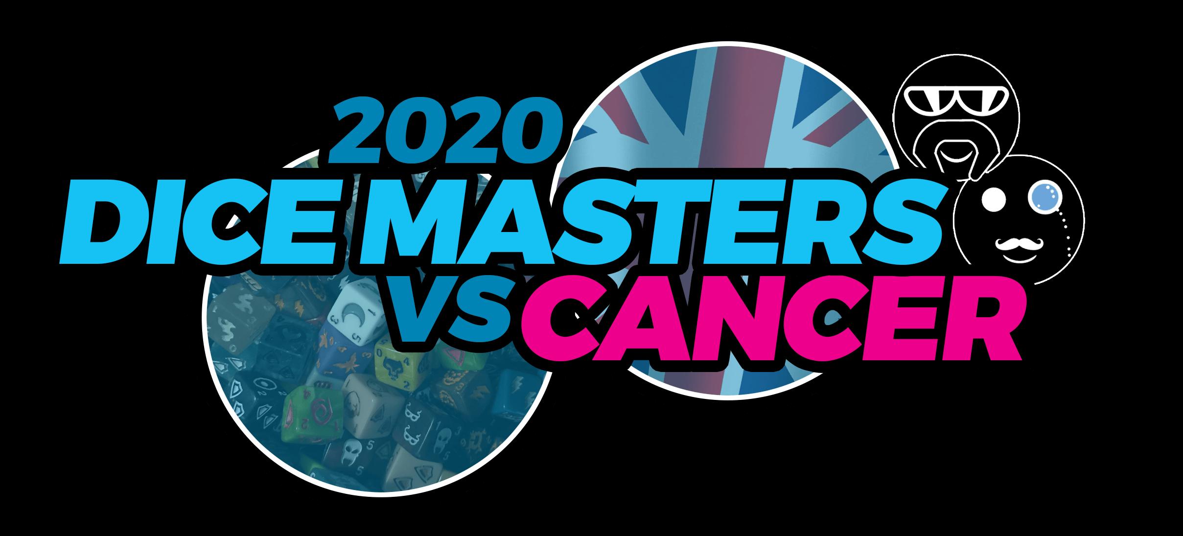 Dice Masters Vs Cancer Logo 2020