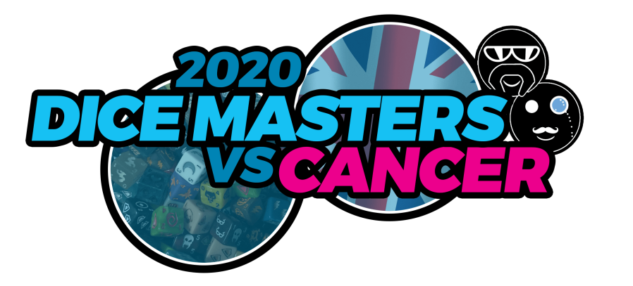 Dice Masters Vs Cancer Logo 2020