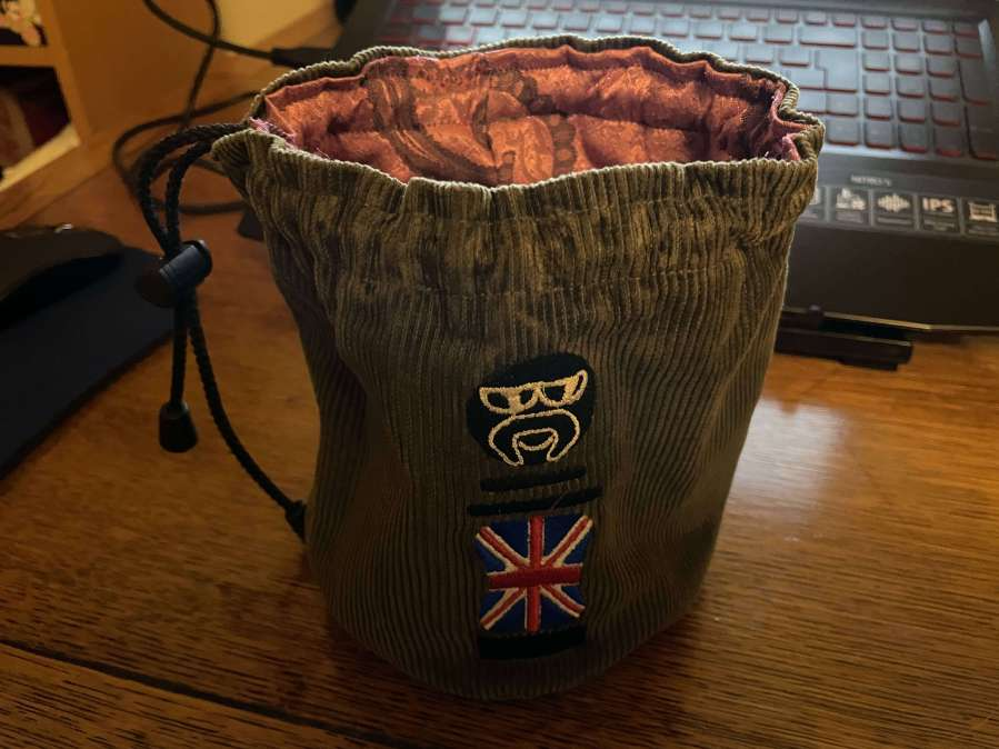 Sew40K Dice Bag