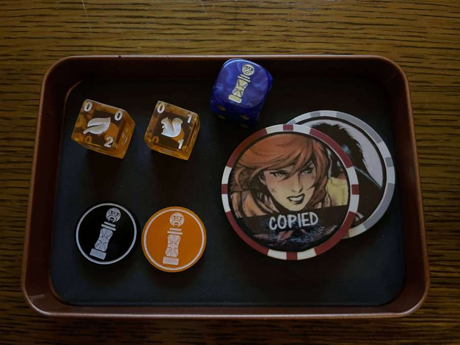 Dice Masters Tokens and Bits