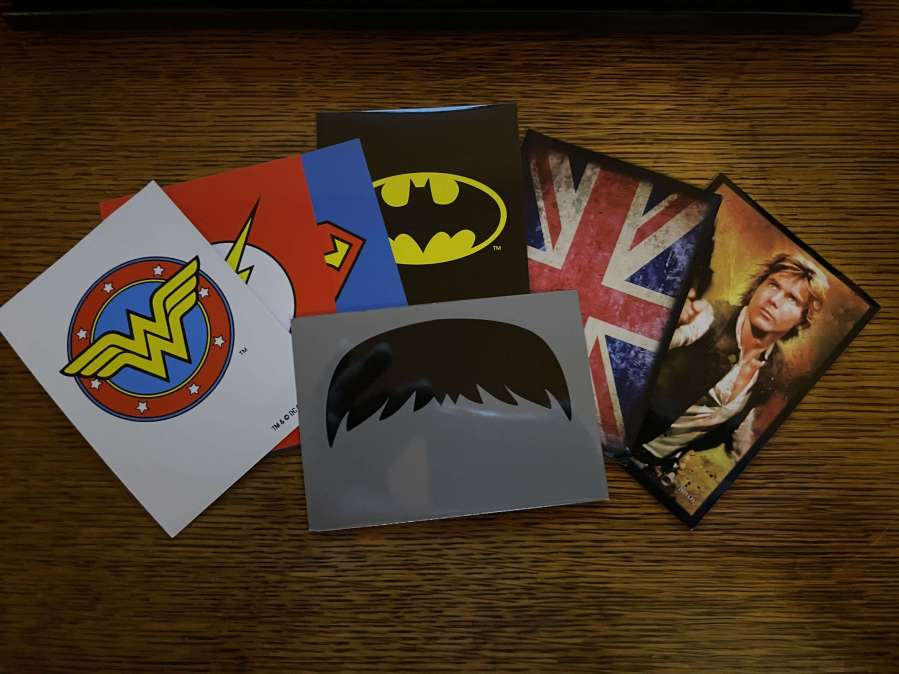 Novelty Card Sleeve Selection