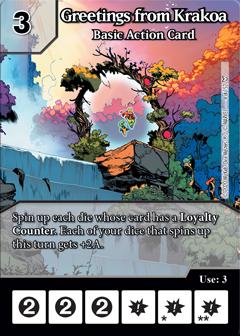 Dice Masters - Dark Phoenix Saga - Greeting from Krakoa
