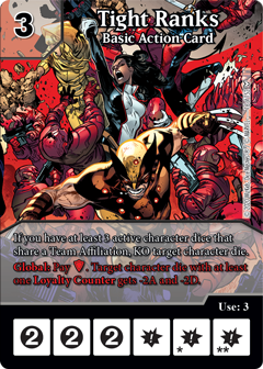 Dice Masters - Dark Phoenix Saga - Tight Ranks
