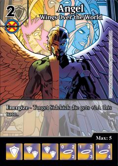Dice Masters - Dark Phoenix Saga - Angel Wings Over the World
