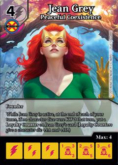 Dice Masters - Dark Phoenix Saga - Jean Grey Peaceful Coexistence
