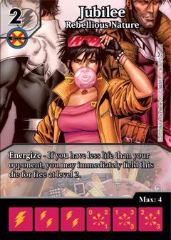 Dice Masters - Dark Phoenix Saga - Jubilee Rebellious Nature