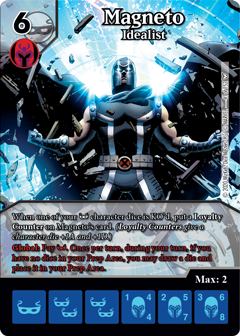 Dice Masters - Dark Phoenix Saga - Magneto Idealist